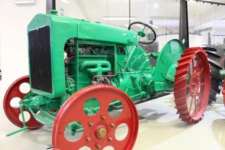 Tractor on the Move, National Museum of Agriculture