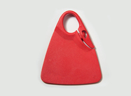 Plastic ear tag for cattle, 1980s, National Museum of Agriculture