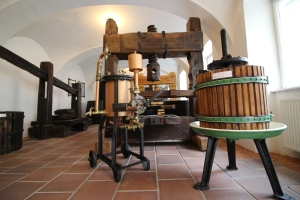 Exposition of Historic Wine Presses and Wine-Making Tools, Valtice