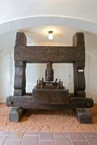 spindle press, National museum of agriculture Valtice